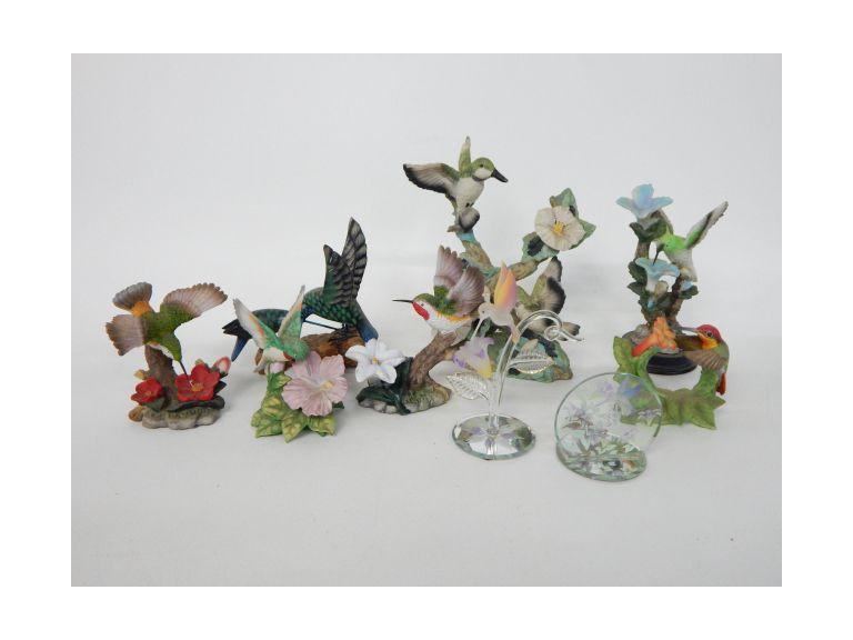 Humming Bird Figurines