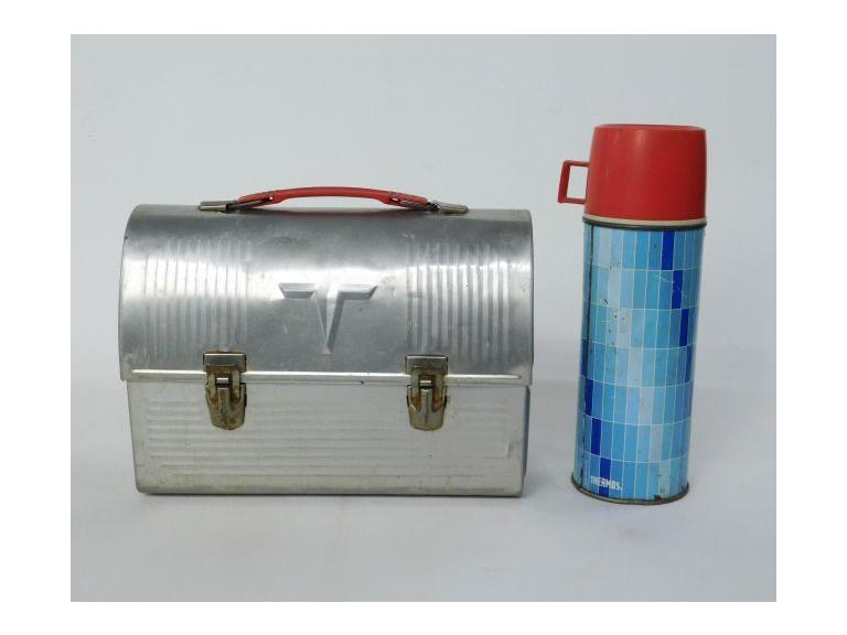 Vintage Thermos Prod. Lunch Box