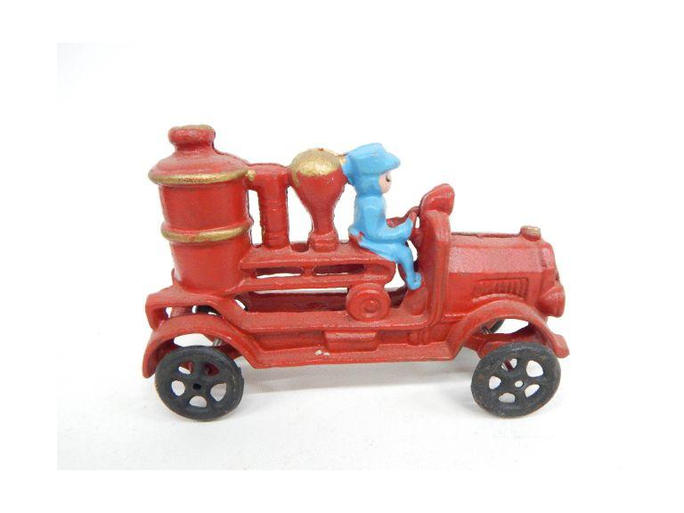 Cast Iron Firetruck Toy