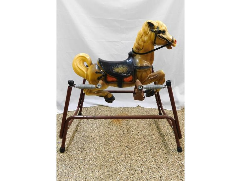 Vintage Spring Riding Horse