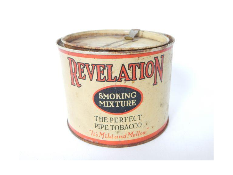 Old Revelation Tobacco Tin