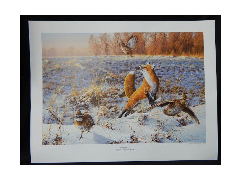 Collection of 47 Walden Signed Fox Prints