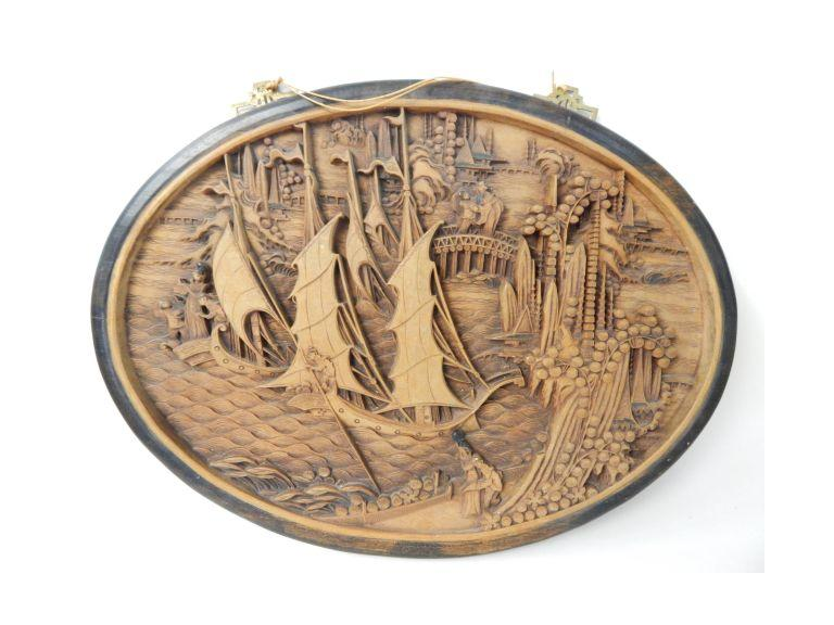 Wooden Relief Carved Image