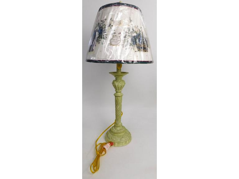 A Homestead Shoppe Lamp & Shade