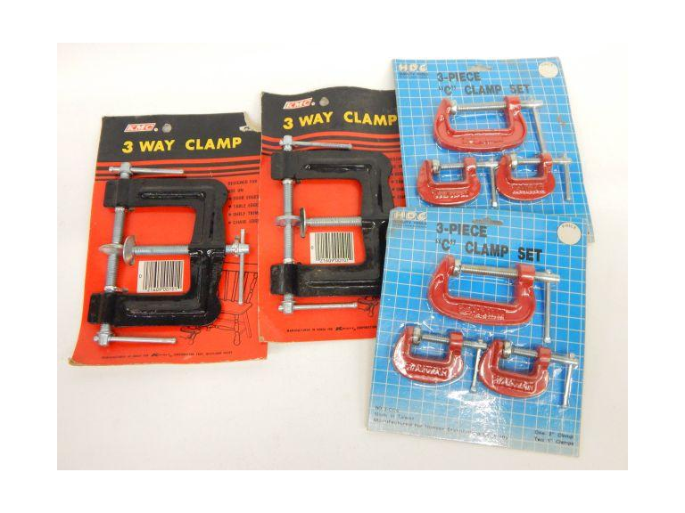 "New ""C"" Clamps and 3-Way Clamps"