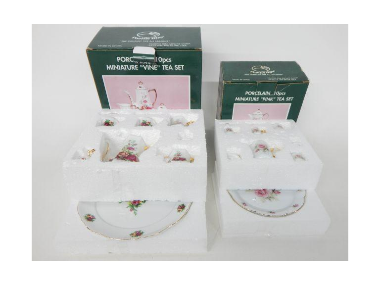 Minatare Porcelain Tea Sets