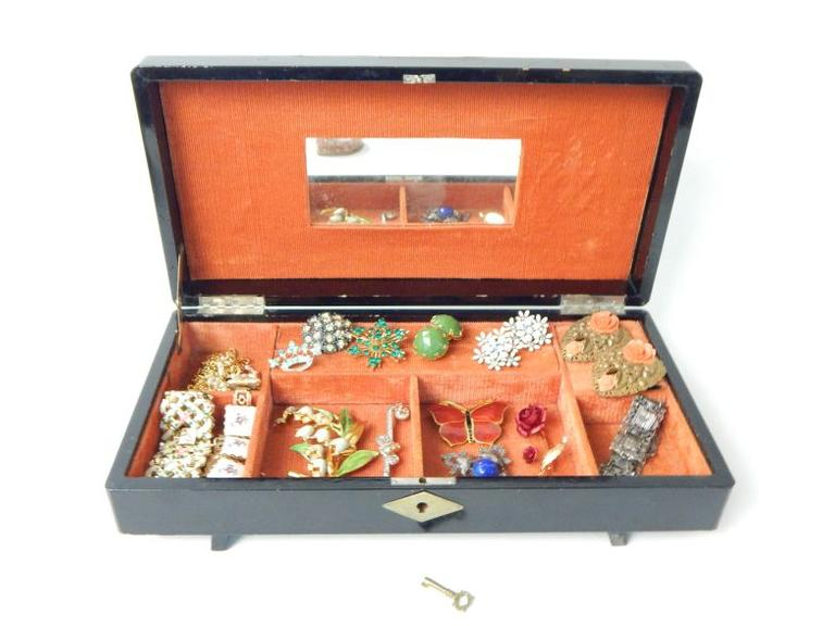 Costume Jewelry Box