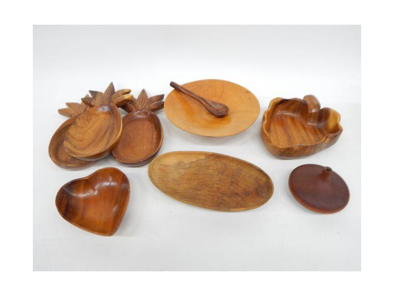 Solid Wood Bowls and Vase