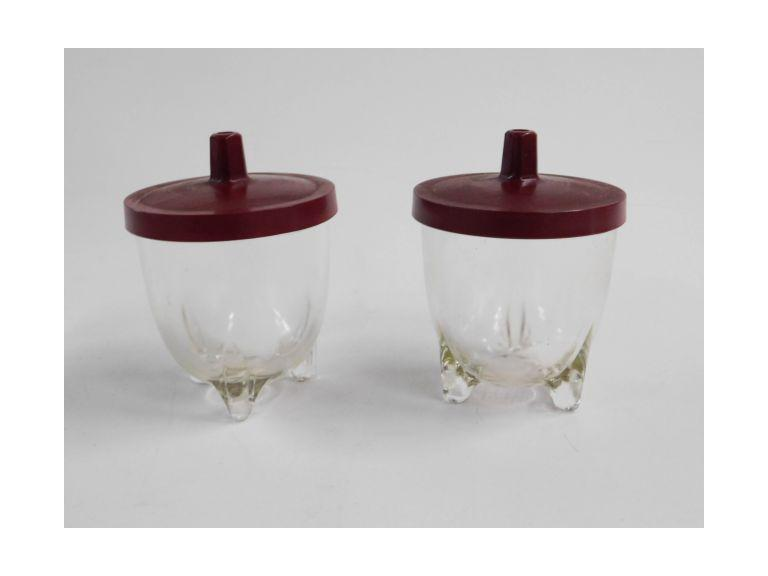 GlasBake Cups with Lids