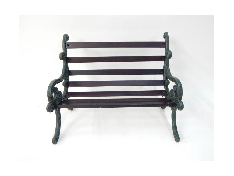 Small Cast Iron sided Bench