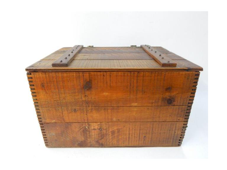 Wooden Explosive Shipping Crate