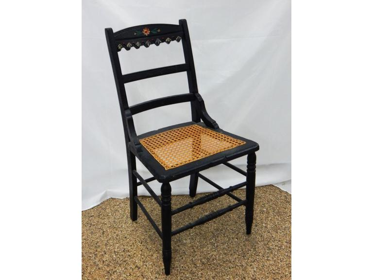 Antique Caned Seat Side Chair