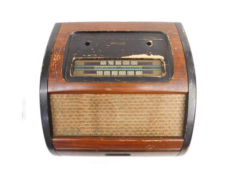 Philco Radio -- Skeleton
