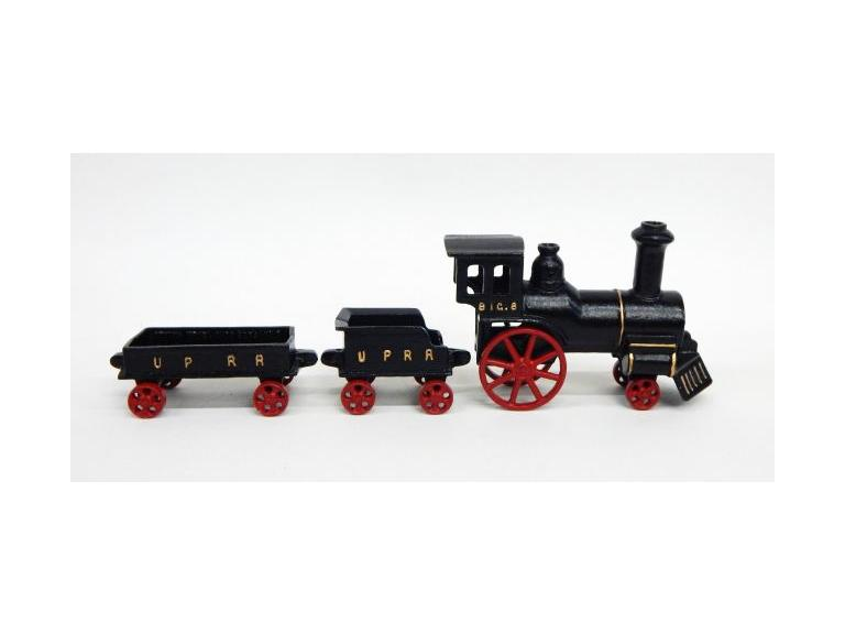 Cast Aluminum Train