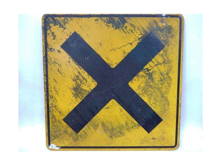 Large Road Traffic Sign