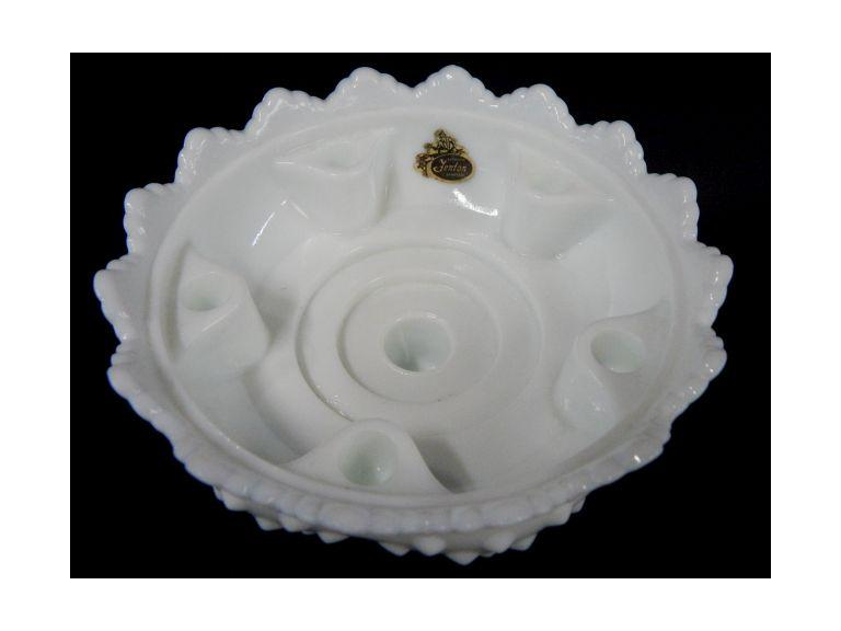 Fenton Candle Bowl