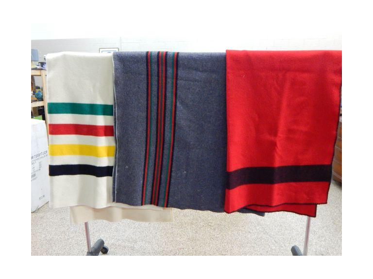 Collection of Wool Blankets