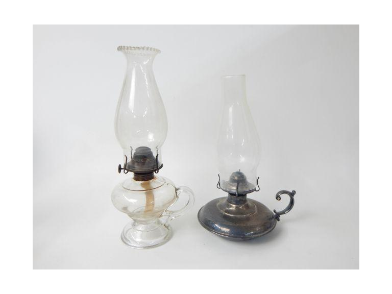 Finger Hold Oil Lamps
