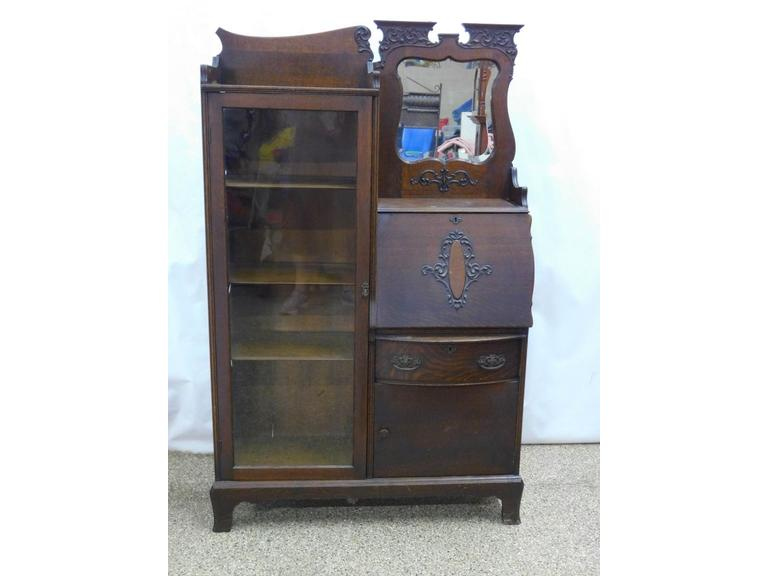 Antique Secretary Desk & Bookcase