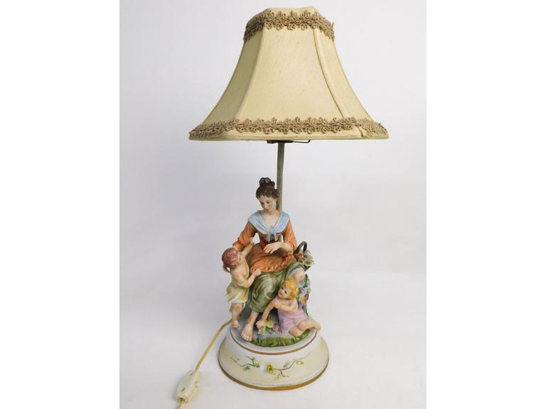 Vintage Lenwile China Ardalt Japan Lamp