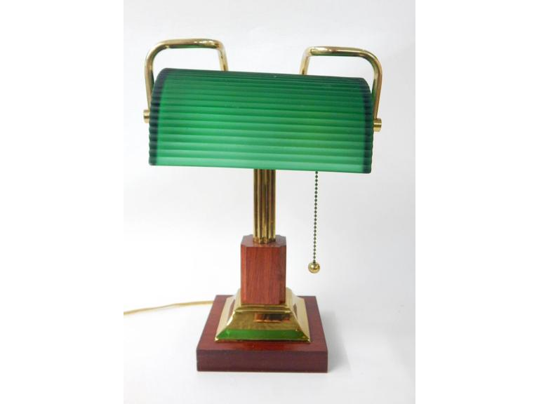 Green Shade Desk Lamp