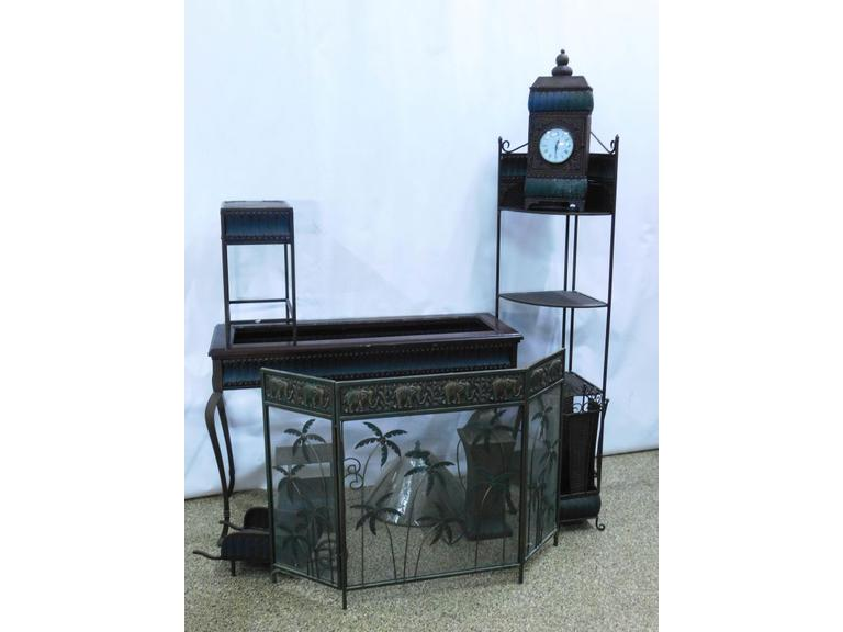 Ornate Metal Furniture Set