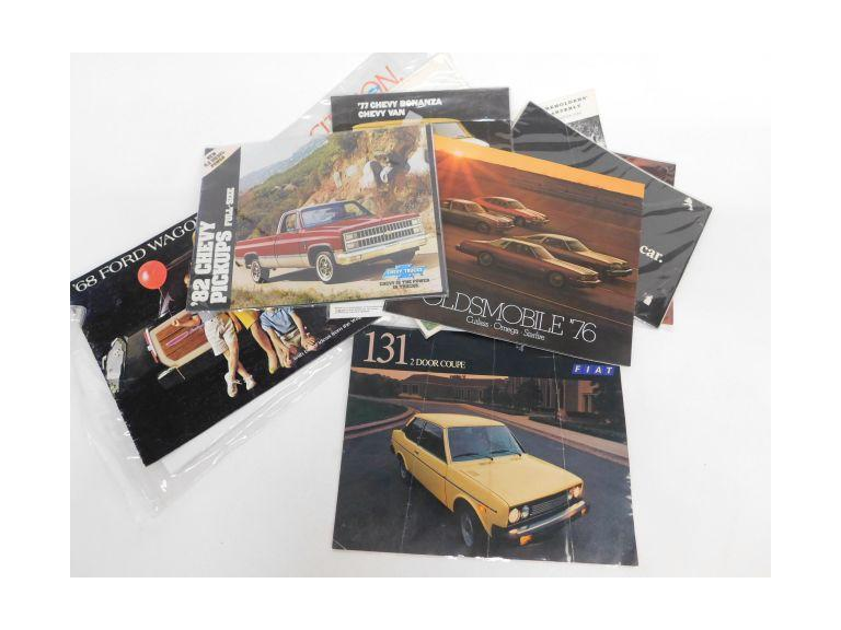 Vintage Vehicle Info Books