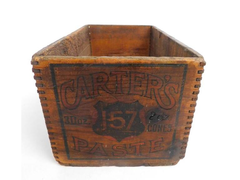 Carter's Paste Shipping Crate