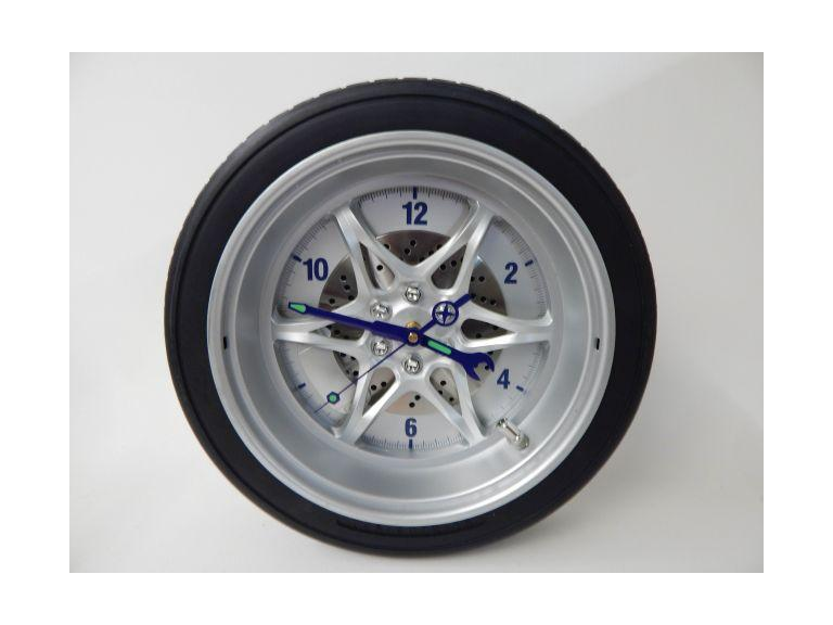 Racing Tire Wall Clock