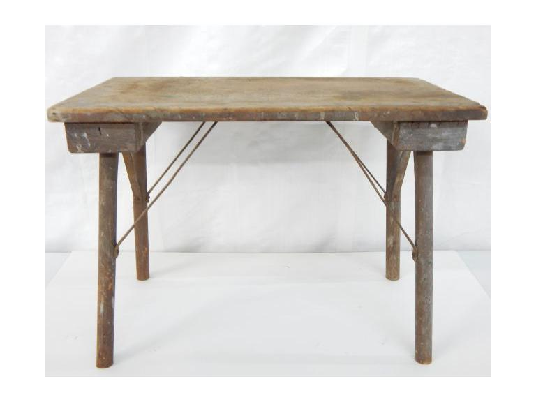 Primitive Wooden Bench/Table