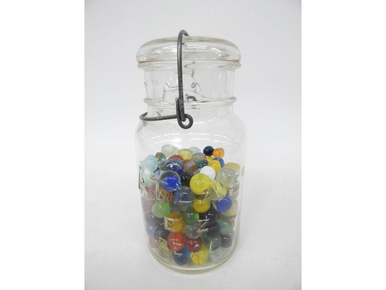Jar Full of Marbles