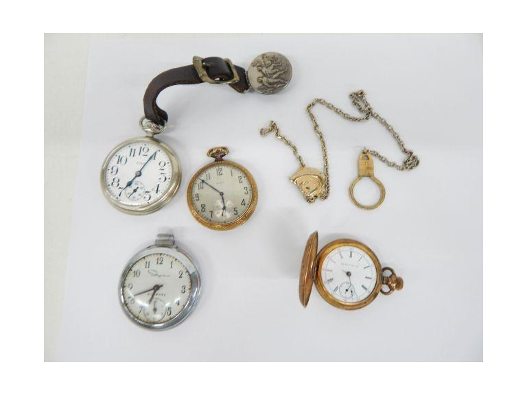 Vintage Pocket Watches for Repair