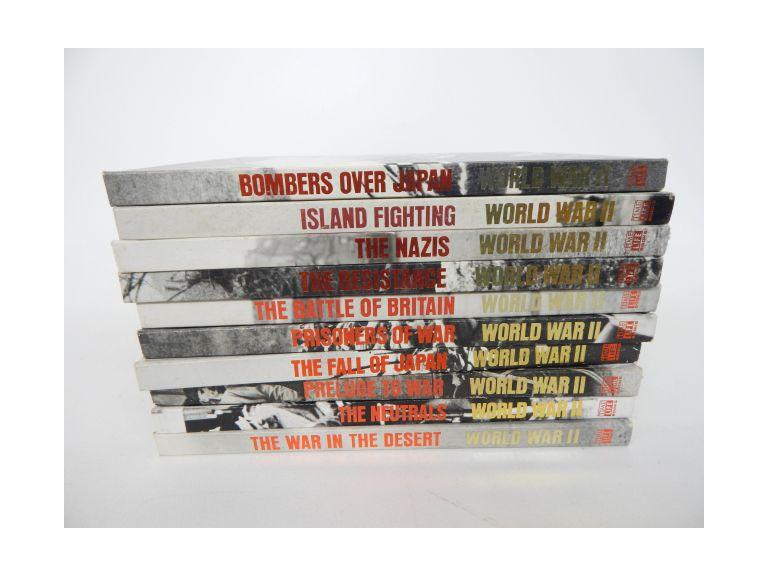 Time Life WW2 Hardback Book Set