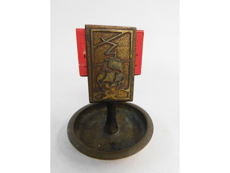 Brass Match Holder
