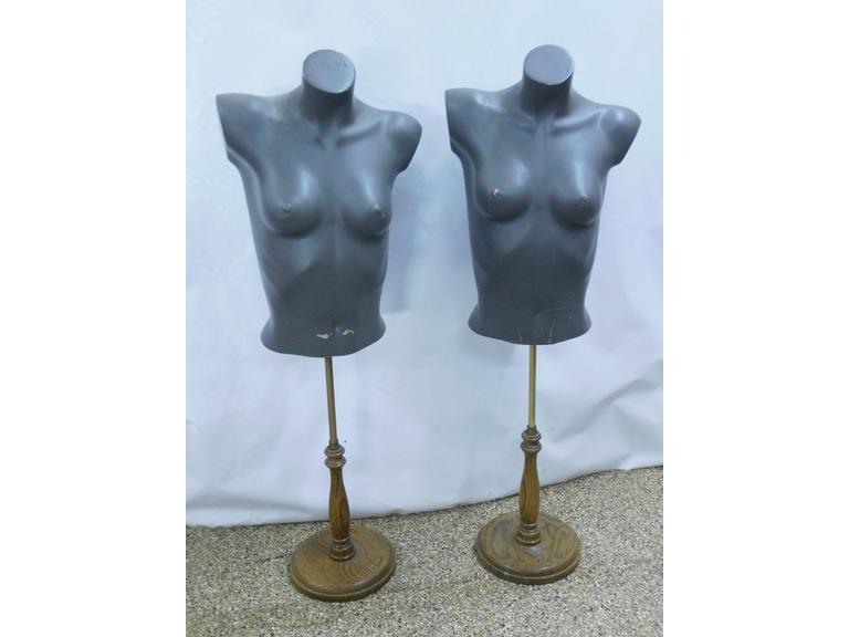 Vintage Store Clothing Stands