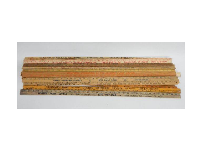 Wooden Yardsticks
