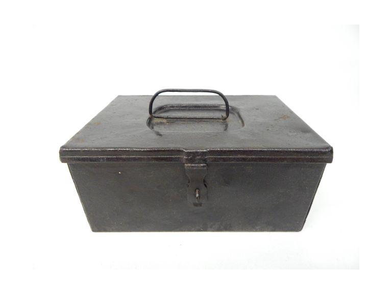 Old Steel Lock Box