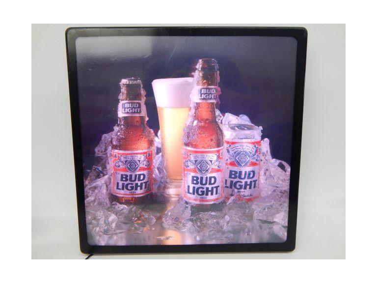 Bud Light Light-Up Bar Sign