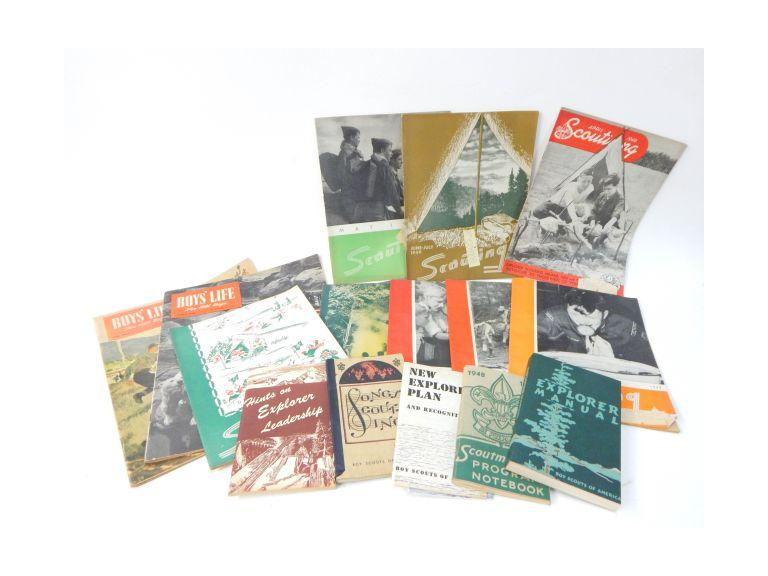 Vintage Scouting Books & Magazines