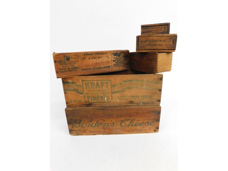 Wood Cheese Crates & More