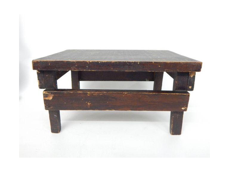 Primitive Wooden Step Stool