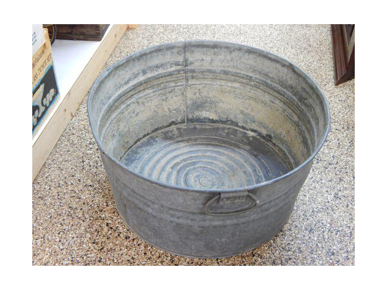 Large Galvanized Tub