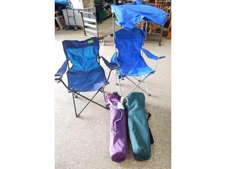 Collection of Camping Bag Chairs
