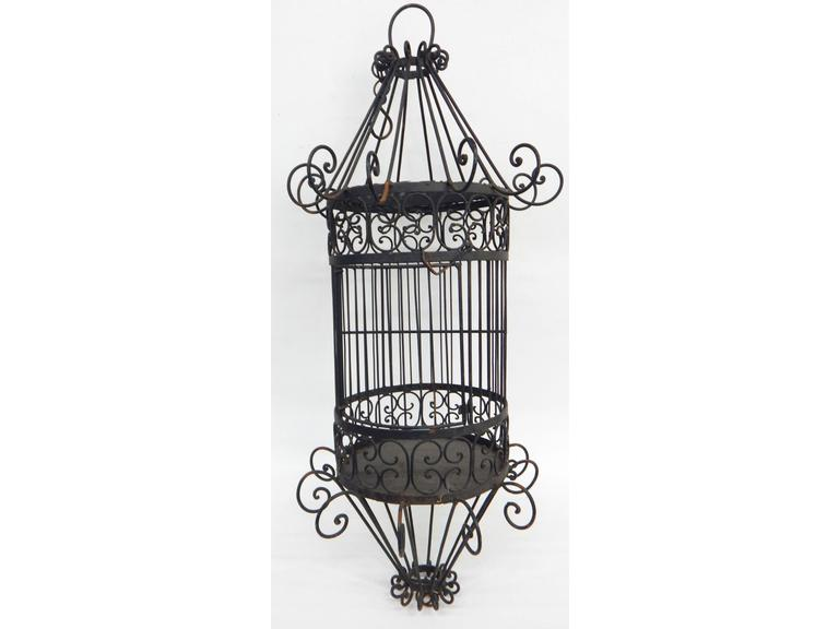 Gothic Style Hanging Bird Cage