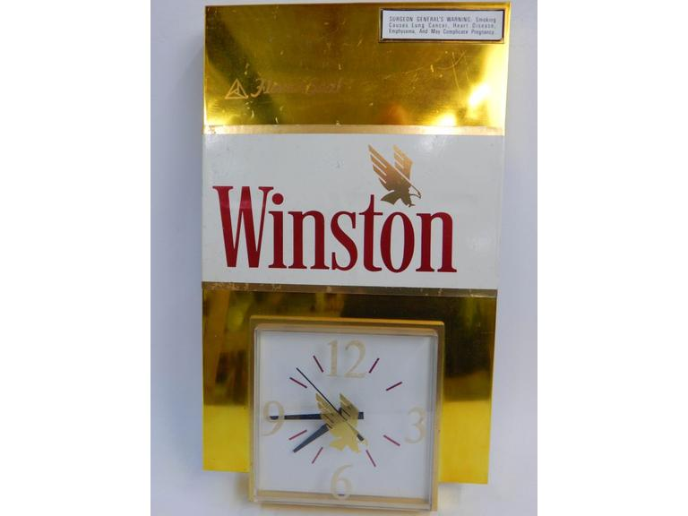 Winston Advertising Wall Clock