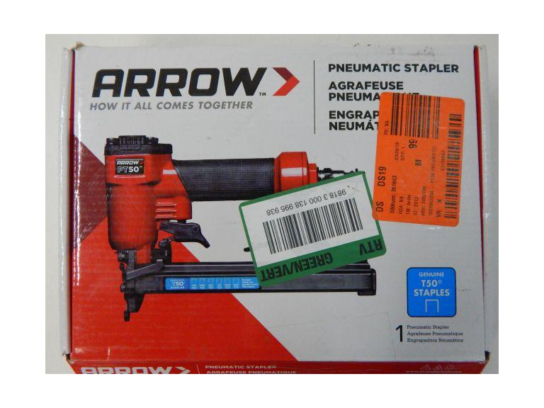 Arrow T50 Pneumatic Staple Gun