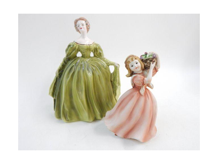 Adeline & Lefton Porcelain Figures