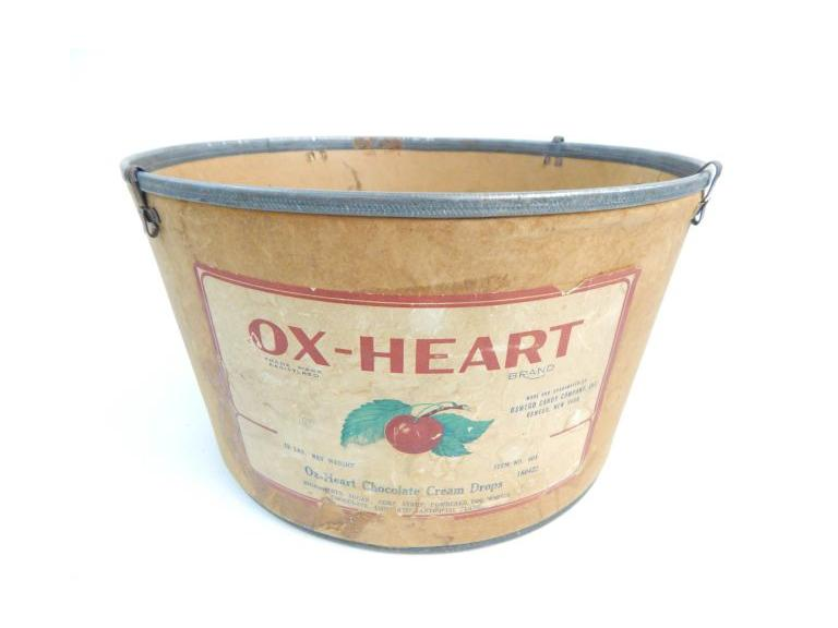 Vintage Advertising Bucket