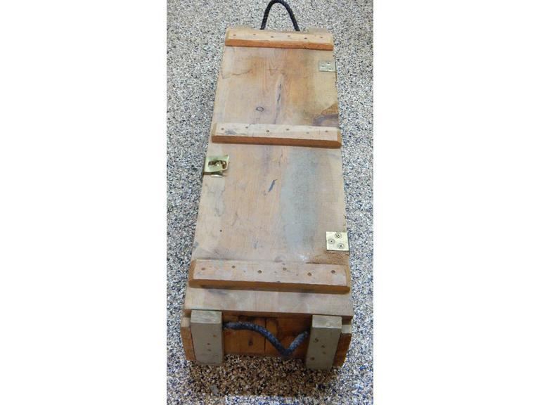 Wooden Ammunition Crate