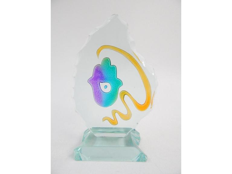 Uda Art Glass Paperweight